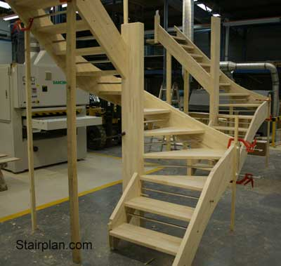 openplan winder staircases