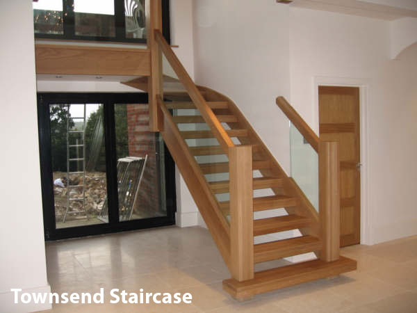 Townsend Stairs in Oak