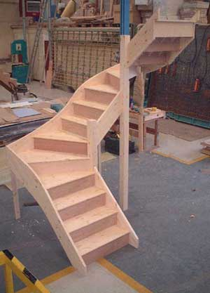 Double winder stairs